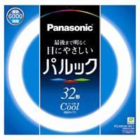 Panasonic 丸管蛍光灯 32W FCL32ECW30XF(10セット)
