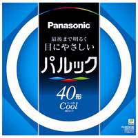 Panasonic 丸管蛍光灯 40W FCL40ECW38XF(10セット)