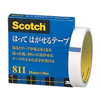 スリーエムジャパン メンディングテープ 811-3-18 18mm×30m(10セット)