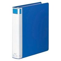LIHITLAB リングファイル F-827-2 A4S 57mm 藍(10セット)