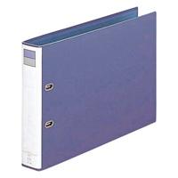 LIHITLAB D型リングファイル F-754 B4E 51mm 青紫(10セット)