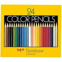 トンボ鉛筆 色鉛筆 CQ-NA24C 24色 紙箱入(10セット)
