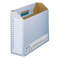 プラス ボックスファイル FL-099BF A4E 青 10冊(10セット)