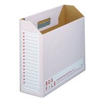 プラス ボックスファイル FL-099BF A4E 赤 10冊(10セット)