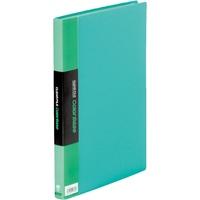 キングジム クリアーファイル 40P 132CW A4S 緑(10セット)