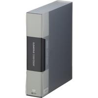 キングジム クリアーファイル 100P 132-5C A4S 黒(10セット)