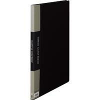 キングジム クリアーファイル 20P 142C B4S 黒(10セット)