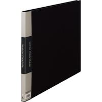キングジム クリヤーファイル 20P 150C A3E 黒(10セット)