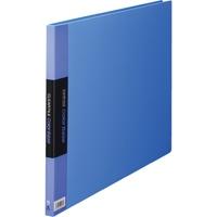 キングジム クリヤーファイル 20P 150C A3E 青(10セット)