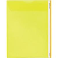 King Jim clear ショッピング holder M 733 A4S yellow クリアホルダー 黄 AL完売しました。 ten キングジム Mホルダー sets 10セット A4S