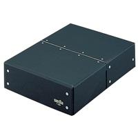 セキセイ 図面箱 T-280-60 A4 黒(10セット)