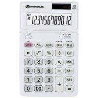 ジョインテックス 中型電卓 ホワイト K071J(10セット)
