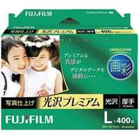 富士フィルム 写真仕上光沢プレミアムL判WPL400PRM 400枚(5セット)