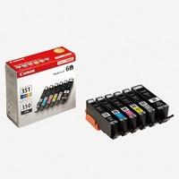 キヤノン インクカートリッジ BCI-351+350/6MP(10セット)