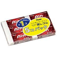 買物 Pen's eraser Ain 5 + 1 PCs 消しゴムAin5 ◇限定Special Price ZEAS10-6 4902506273512 1個 ぺんてる