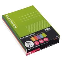 プラス ノートブック NO-204AS-10CP A4 A罫 10冊 プラス ノートブック NO-204AS-10CP A4 A罫 10冊(10セット)
