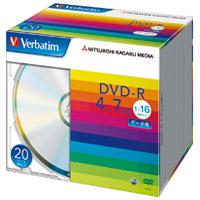 三菱化学メディア DVD-R [4.7GB] DHR47J20V1 20枚(10セット)