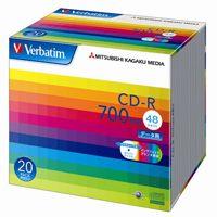 三菱化学メディア CD-R [700MB] SR80SP20V1 20枚(10セット)
