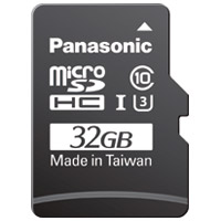 Panasonic microSDHCカード 32GB RP-SMGB32GJK(10セット)