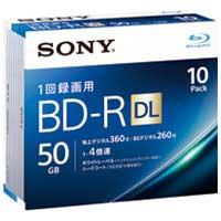 SONY 録画用BD-R 50GB 10枚 10BNR2VJPS4(10セット)