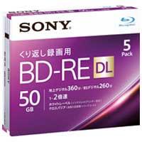 SONY 録画用BD-RE 50GB 5枚 5BNE2VJPS2(10セット)