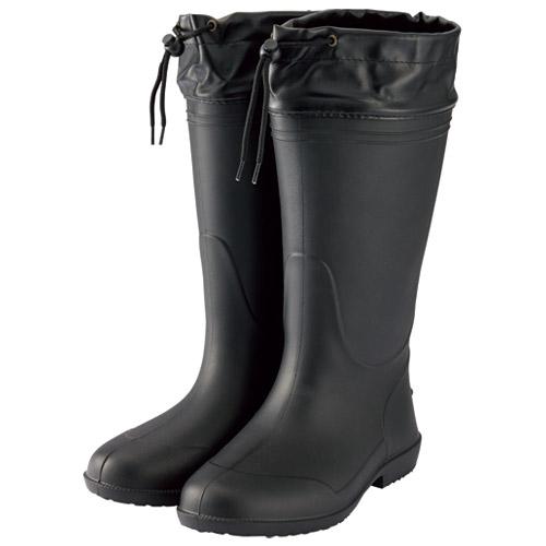 ミタニコーポレーション 軽量長靴ホッパー01 S ブラック 214144(10セット)