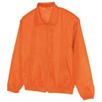 アイトス 裏メッシュブルゾン オレンジ Lサイズ(10セット)