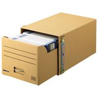 スマートバリュー 書類保存キャビネット A4判用*1個 D089J(10セット)