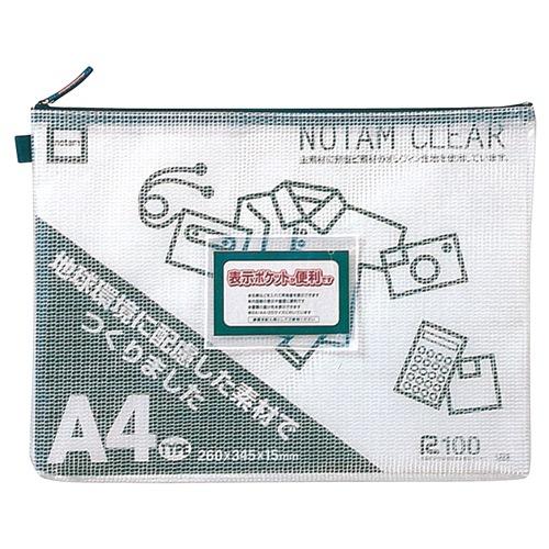 雲州堂 ノータムクリアA4 ブルー UNC-A4#36 15枚(10セット)