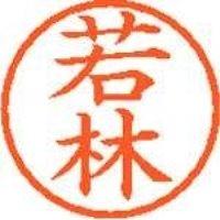 シヤチハタ ネーム6既製 XL-6 1992 若林(10セット)