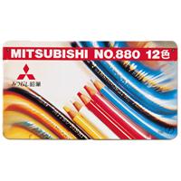三菱鉛筆 色鉛筆880 K88012CP 12色セット(10セット)