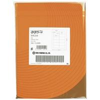 東洋印刷 △ワープロラベル ナナ SHC-210 A4 500枚 東洋印刷 ワープロラベル ナナ SHC-210 A4 500枚(10セット)