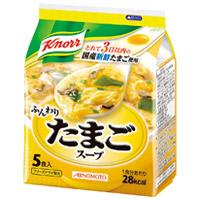 AGF クノール ふんわりたまごスープ5P/1袋(10セット)