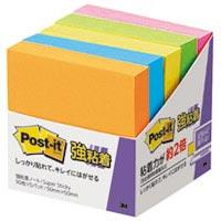 スリーエムジャパン Post-it 650-5SSAN 強粘着 50mm×50mm 蛍光(10セット)