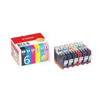キヤノン インクカートリッジ BCI-6/6MP 6色パック(5セット)