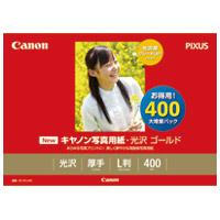 キヤノン 写真紙 光沢ゴールド GL-101L400 L 400枚(10セット)