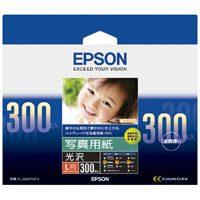 エプソン 写真用紙 光沢 KL300PSKR L判 300枚(10セット)