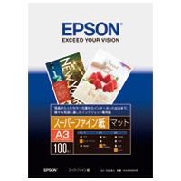 エプソン スーパーファイン紙 KA3100SFR A3 100枚(10セット)
