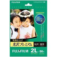 富士フイルム 写真仕上光沢プレミアム2L WP2L50PRM 50枚(10セット)