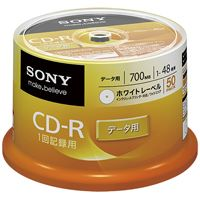 SONY CD-R50枚 50CDQ80GPWP(10セット)