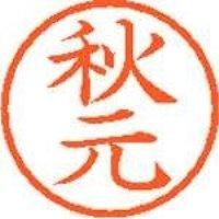 シヤチハタ ネーム6既製 XL-6 0053 秋元(10セット)