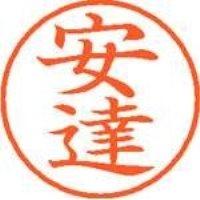 シヤチハタ ネーム9既製 XL-9 0080 安達(10セット)