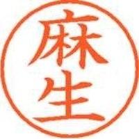 シヤチハタ ネーム9既製 XL-9 0125 麻生(10セット)