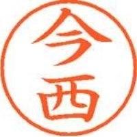 シヤチハタ ネーム9既製 XL-9 0294 今西(10セット)