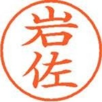 シヤチハタ ネーム9既製 XL-9 0310 岩佐(10セット)