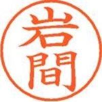 シヤチハタ ネーム9既製 XL-9 0328 岩間(10セット)