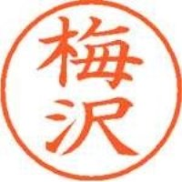 シヤチハタ ネーム9既製 XL-9 0394 梅沢(10セット)