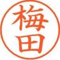 シヤチハタ ネーム9既製 XL-9 0395 梅田(10セット)