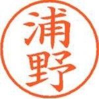シヤチハタ ネーム9既製 XL-9 0407 浦野(10セット)