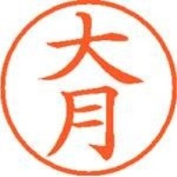 シヤチハタ ネーム9既製 XL-9 0503 大月(10セット)